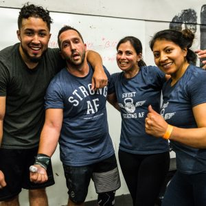 Monday 6418 Crossfit Strong Island